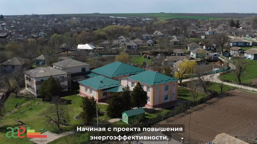 VIDEO Circa 40 de mii de lei, economisiți într-un an, după eficientizarea energetică a Grădiniței din satul Parcova