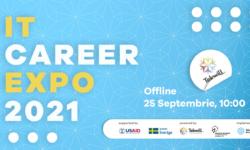 """Visezi la un job în domeniul tehnologiilor informaționale? Participă la târgul """"IT Career Expo 2021"""". Când va avea loc"""