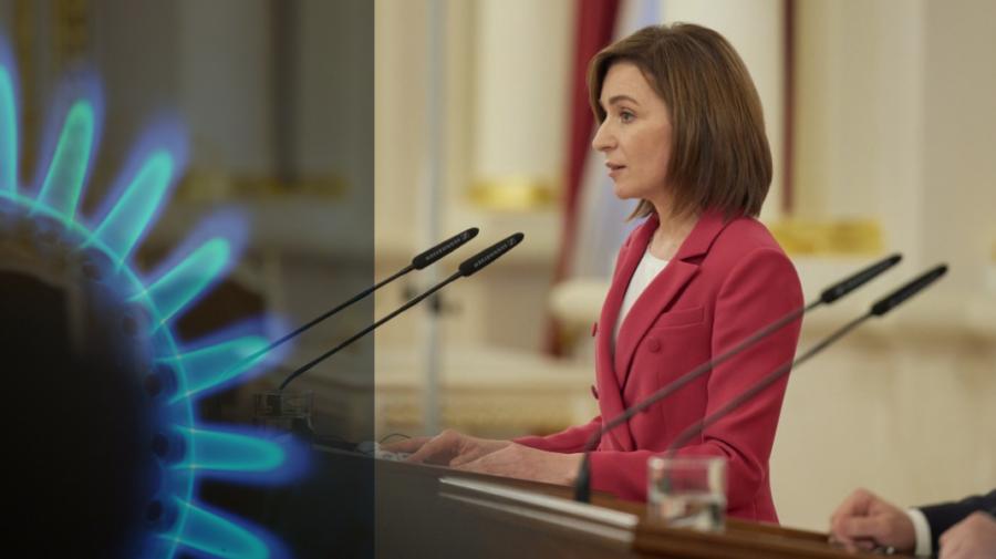 O lege elaborată de Maia Sandu ar putea pune capac planului Moldovagaz de a majora prețul la gaz. Ce prevede documentul