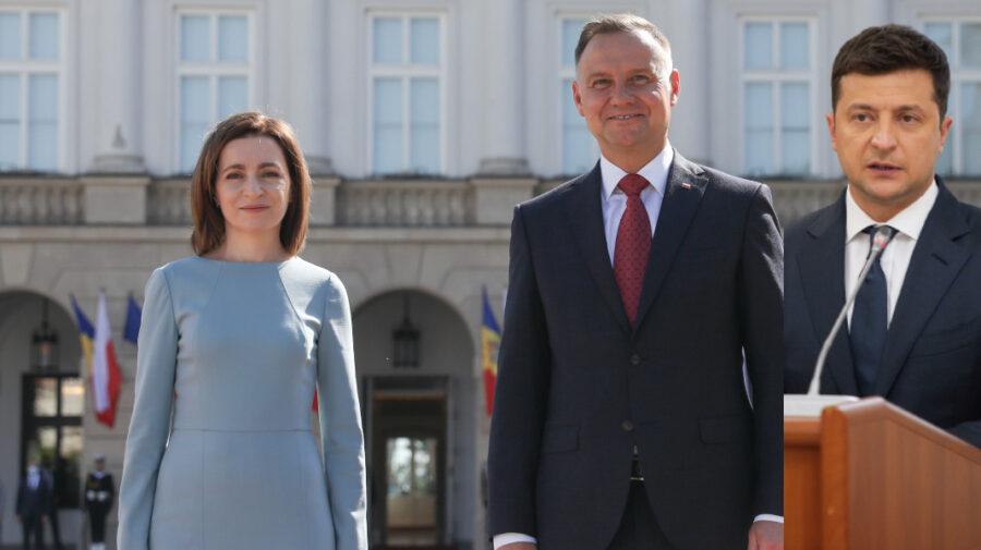 VIDEO Sandu, Duda și Zelenski vor avea o întrevedere la New York. Anunț făcut de Președinția Poloniei