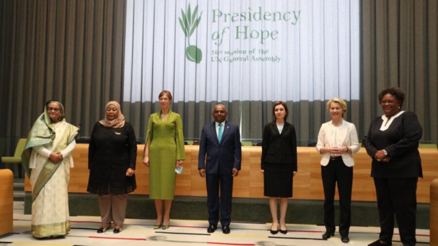 FOTO Maia Sandu, printre președintele ce promovează egalitatea de gen. A avut loc o reuniune a acestora la New York