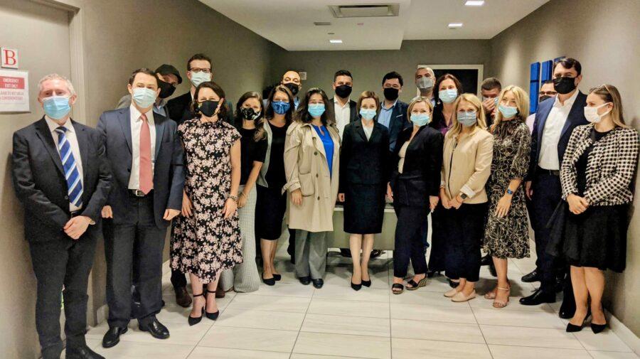 Maia Sandu și-a făcut timp pentru diaspora din SUA, la Adunarea ONU. S-a întâlnit cu un grup de moldoveni din New York