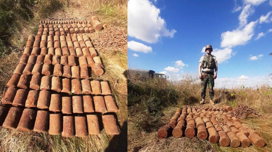 Duminică de foc pentru militari. Grenade și cartușe din timpul celui al II-lea Război Mondial, nimicite la Ștefan Vodă