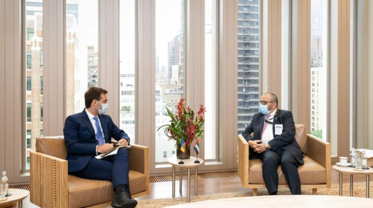 Nicu Popescu, de vorbă cu ministrul de stat al Emiratelor Arabe Unite. Discuții despre investiții în economia națională