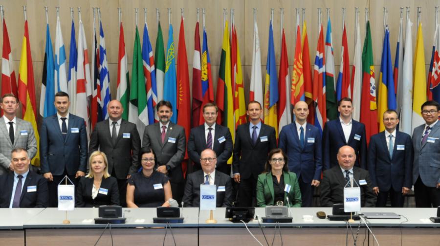 Reprezentanți ai Poliției de Frontieră au participat la reuniunea Punctelor Focale Naționale OSCE. Subiectele abordate