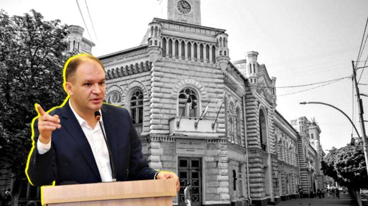 """DOC O situație gravă la Primăria Chișinău! Bugetul va fi golit de 17 milioane de lei. Ceban: """"Stă la mijloc michiduță"""""""