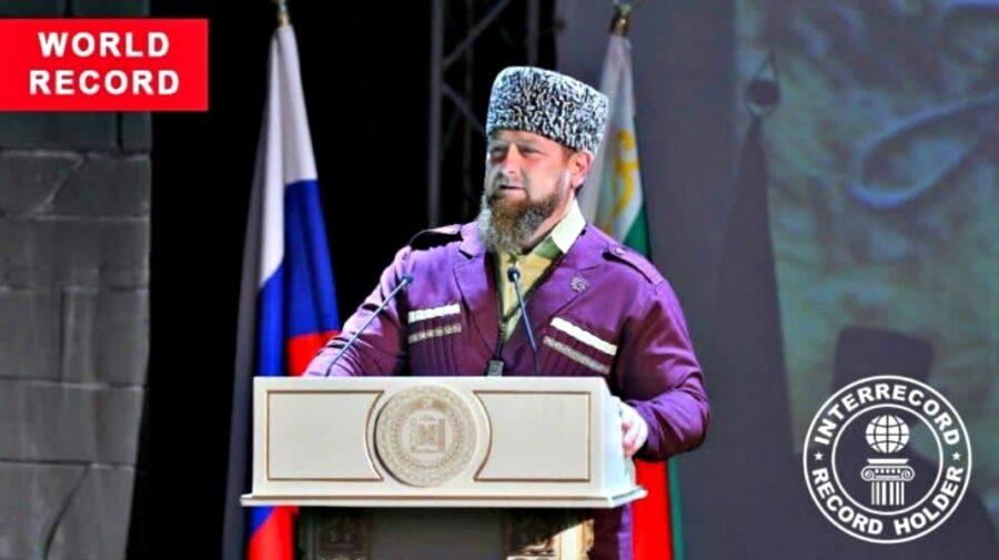 Ramzan Kadîrov a obținut așa de multe voturi la alegeri, încât a stabilit un record mondial!