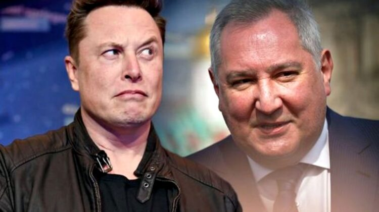 """VIDEO Rogozin îl invită pe Musk la el acasă: """"Am pus ceaiul la încălzit"""""""