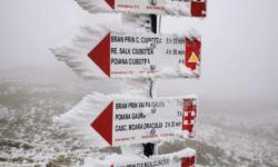 VIDEO În Româna ninge și stratul de zăpadă este de 10 cm. Au fost -8,5 grade Celsius, cel mai frig din Europa
