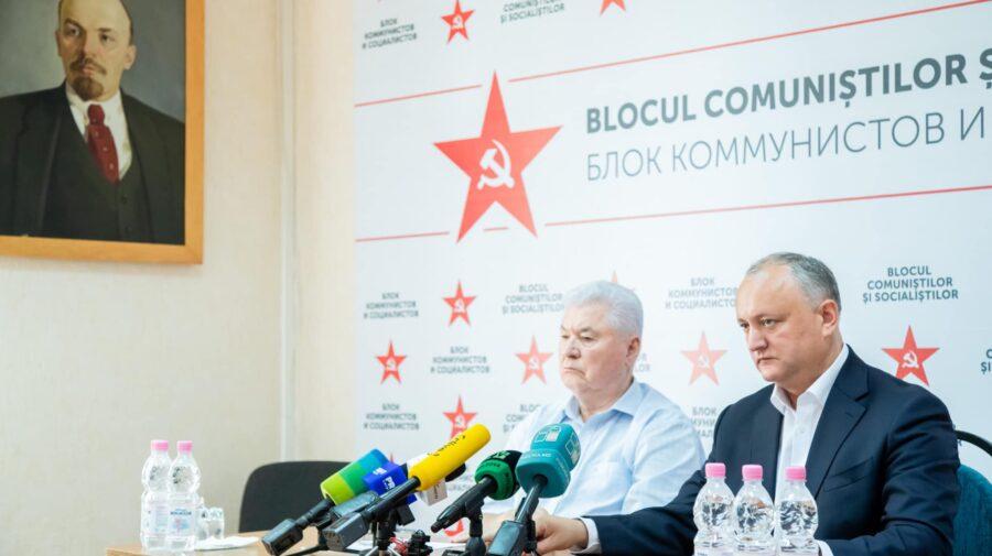 Voronin zice nu, însă s-ar putea răzgândi în privința fuzionării PCRM în PSRM: Dodon a avut o scurtă discuție cu mine