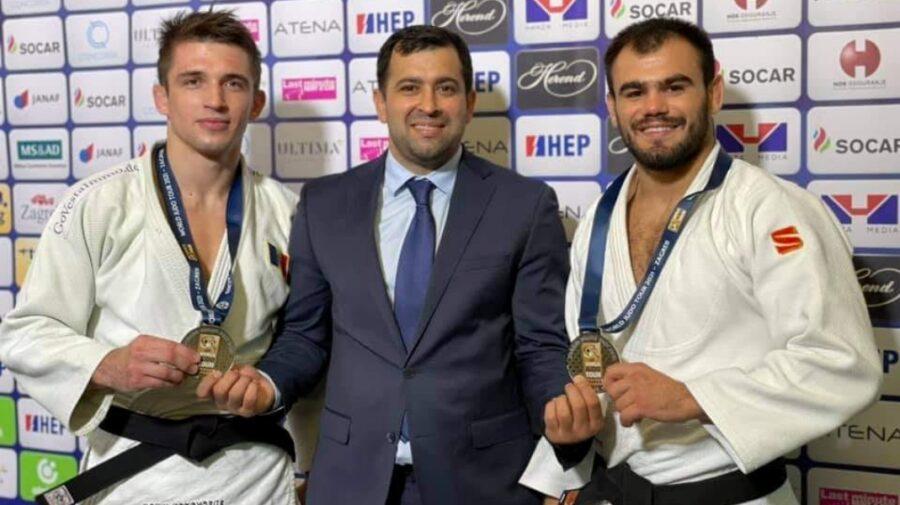 Încă doi sportivi din Republica Moldova au urcat pe podiumul de la Zagreb
