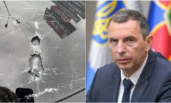 """FOTO Focuri de armă asupra mașinii primului asistent al lui Zelenski! A fost demarată operațiunea """"Sirena"""""""