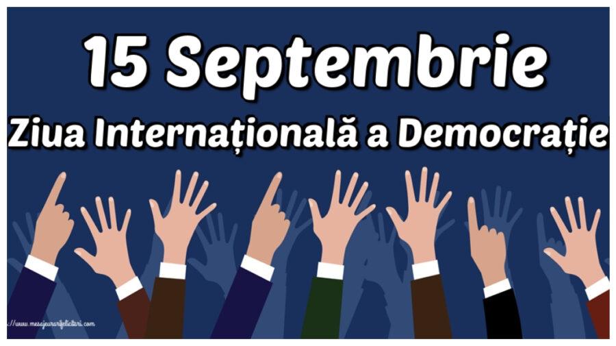 Ziua Internațională a Democrației, marcată la Parlament. Primii vizitatori, un grup de turiști din Ucraina