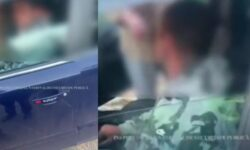 """VIDEO Prins """"mort"""" beat la volan. Soția șoferului a făcut un adevărat SHOW: Domn polițist, du-te de aici"""