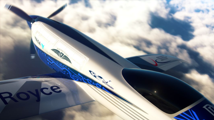VIDEO Primul zbor al avionului electric construit de Rolls-Royce, testat cu succes