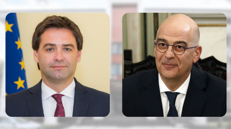 Ministrul de Externe al Greciei, la Chișinău. Va susține o conferință de presă cu Nicu Popescu, transmisă pe RLIVE.MD