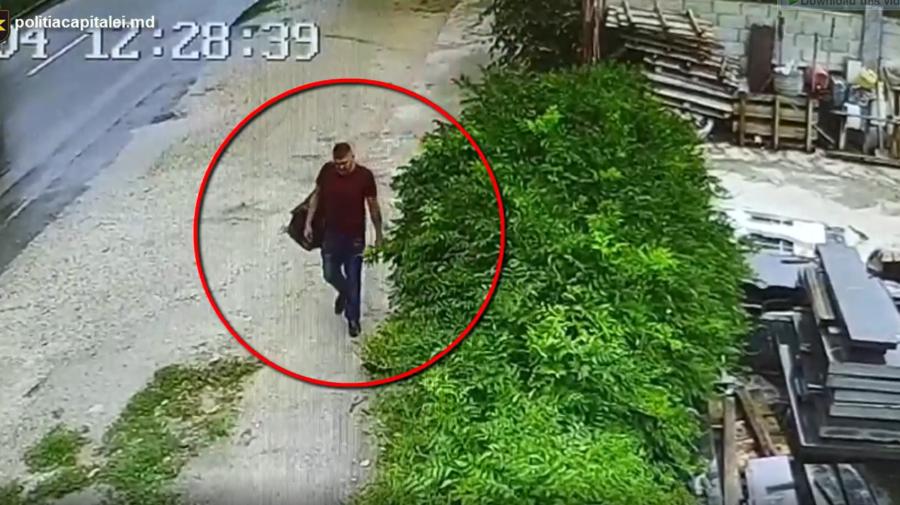 VIDEO A profitat de lipsa victimei și i-a furat banii din geantă. Poliția caută individul pentru a-l pedepsi