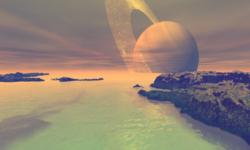 Te lasă cu gura căscată! Cercetătorii au recreat atmosfera de pe Titan în fiole mici de sticlă. Fabulos!