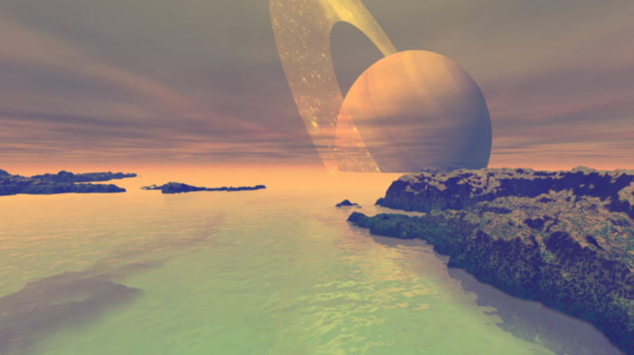 FABULOS! Cercetătorii au recreat atmosfera de pe Titan în fiole mici de sticlă