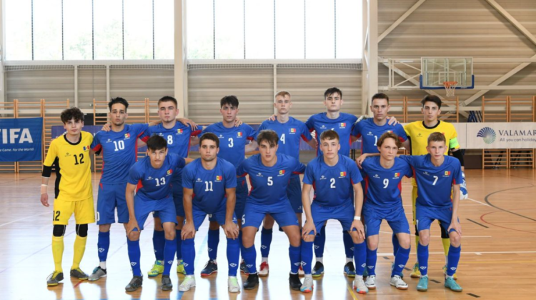 Naționala Moldovei de futsal va participa la prima ediție a Jocurilor țărilor din CSI