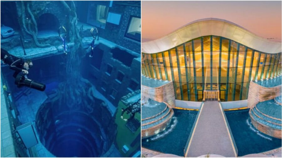 FOTO, VIDEO Orașul subacvatic din Dubai. Noua destinație la care să visezi. Are cea mai adâncă piscină din lume