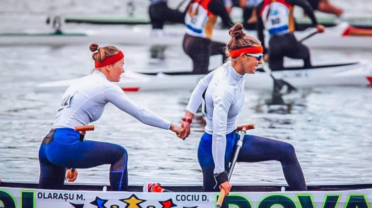 VICTORIE pentru Moldova! Dubloul Daniela Cociu – Maria Olărașu a cucerit argintul la Mondialul U-23
