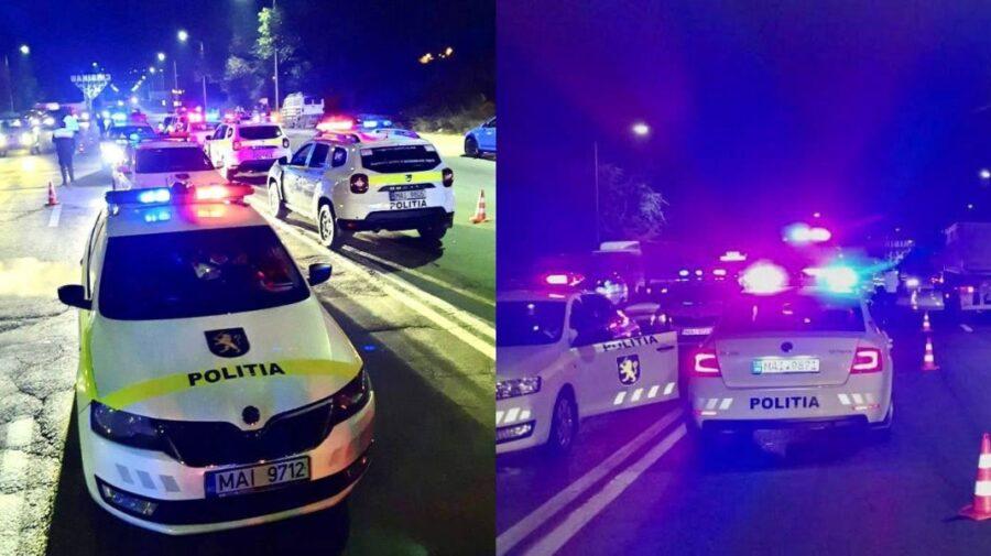 FOTO Un șofer din Capitală, prins beat la volan. Poliția a organizat un filtru, iar 59 de șoferi au fost sancționați