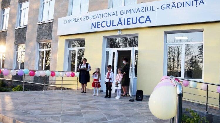 Un nou proiect ambițios, implementat de echipa lui Ilan Șor – Complexul educațional gimnaziul-grădinița la Neculăieuca