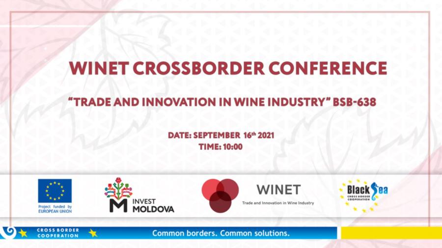 WINET reunește într-o conferință comunitatea industriei vitivinicole din Moldova, România și Bulgaria. Unde va avea loc