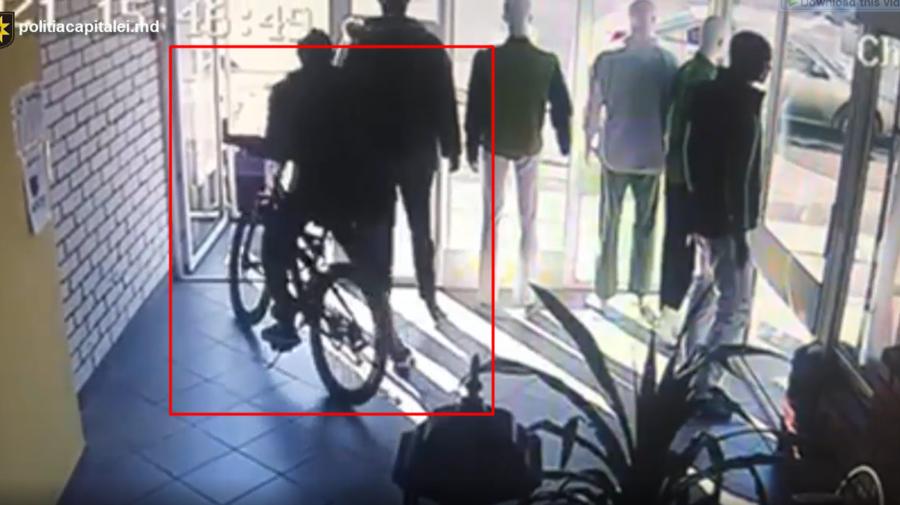 """VIDEO """"Afacere"""" neprofitabilă. A furat o bicicletă și a vândut-o, însă a fost reținut de polițiști. Riscă pușcărie"""