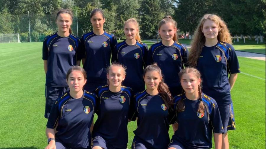 VIDEO 10 fotbaliste tinere vor reprezenta Moldova la Campionatul Mondial