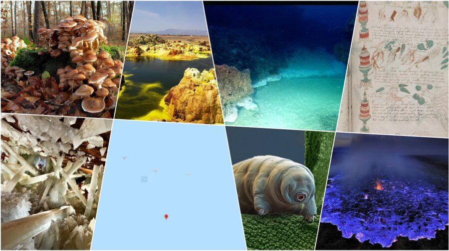 FOTO Lacuri și râuri sub ocean sau cristale gigantice în peșteră! 8 dintre cele mai ciudate lucruri de pe planetă
