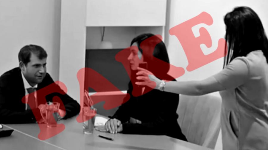VIDEO Carp, despre reacția PG la imaginile trucate în care apare Șor și Sandu: Nu sunt temeiuri pentru intervenție