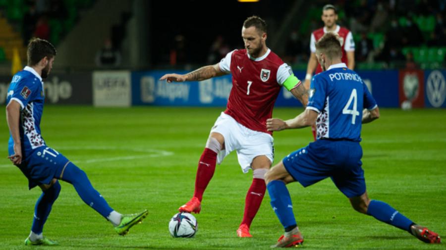 Echipa Moldovei a pierdut meciul de fotbal jucat cu Austria. Sâmbătă urmează partida cu Scoția