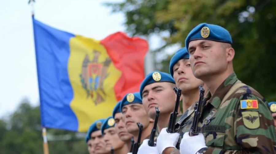 VIDEO Armata Națională la 30 de ani! Maia Sandu participă la ceremonia de la Ministerul Apărării