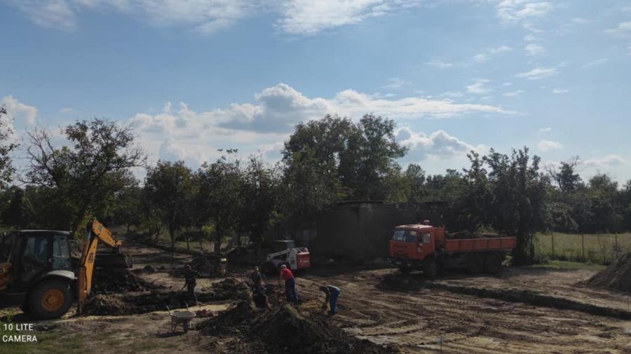 FOTO ALERTĂ! Muniții vechi, depistate pe teritoriul SPF Valea Mare. Zona a fost încercuită de geniști