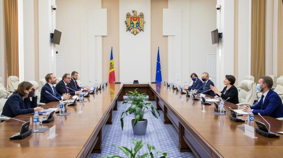 Gavrilița i-a zis ministrului de Externe al Cehiei prioritatea strategică a actualului Guvern: Vom aduce un nou impuls
