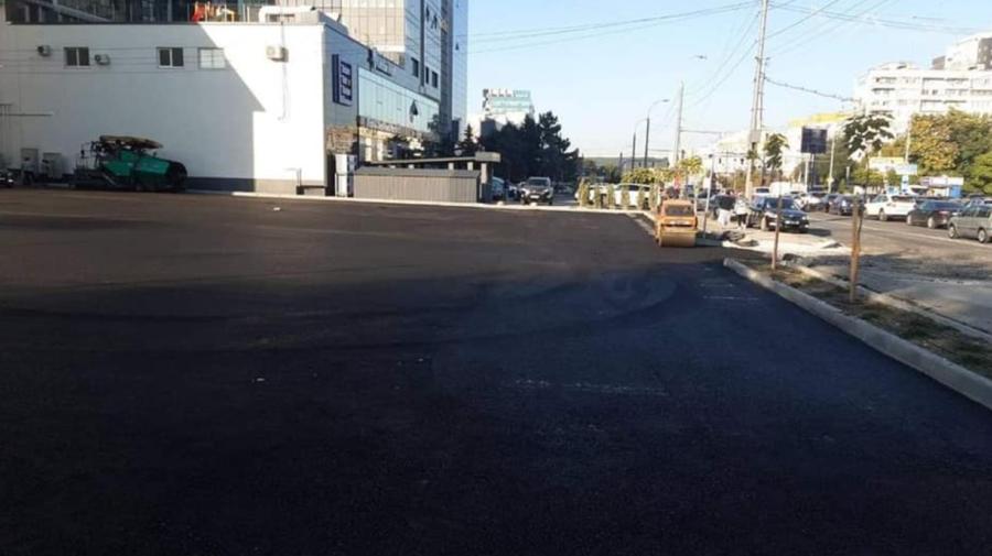 FOTO Parcarea de pe strada Ismail, aproape finalizată! La ce etapă se află alte proiecte ale municipalității