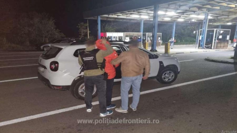 Conațional căutat de polițiștii din România, depistat la frontieră. Bărbatul era condamnat la închisoare