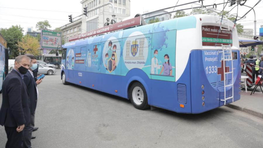 Punctele mobile de vaccinare, în așteptarea cetățenilor! Unde sunt amplasate astăzi, 15 septembrie