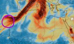 VIDEO Vulcanul din La Palma a intrat în cea mai explozivă fază. Norul de poluanți ajunge și în România!