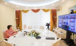 FOTO Discursul Primului-ministru, Natalia Gavrilița, în cadrul Consiliului șefilor de state membre ale CSI