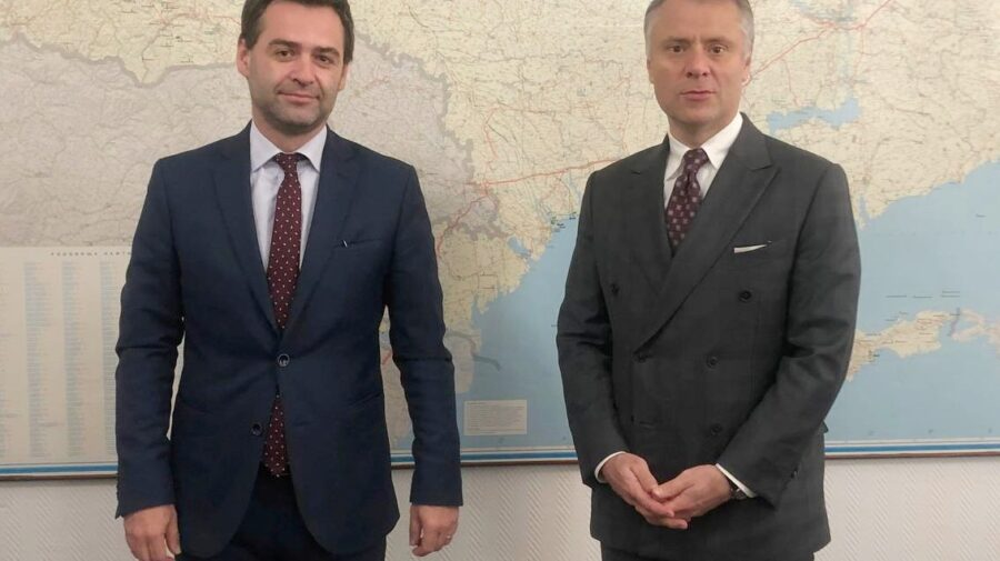 GAZ din Ucraina?! Nicu Popescu a avut o întrevedere cu președintele Naftogaz, Yuriy Vitrenko