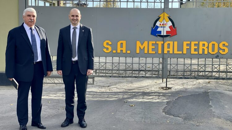 """Noul director interimar al """"Metalferos"""". """"Sarcina noastră primordială va fi stabilirea unui nou lanț de comerț"""""""