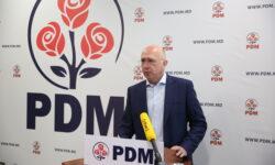 Discursul lui Pavel Filip după ce și-a anunțat plecarea de la șefia PDM: Partidul are nevoie de o altă conducere