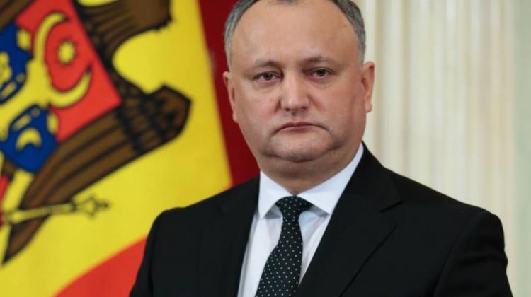 Ultima oră! Igor Dodon renunță la mandatul de deputat în Parlament şi la funcţia de preşedinte al PSRM