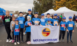 Viitorii bancheri de la Moldindconbank, printre premianții Kids Run Day