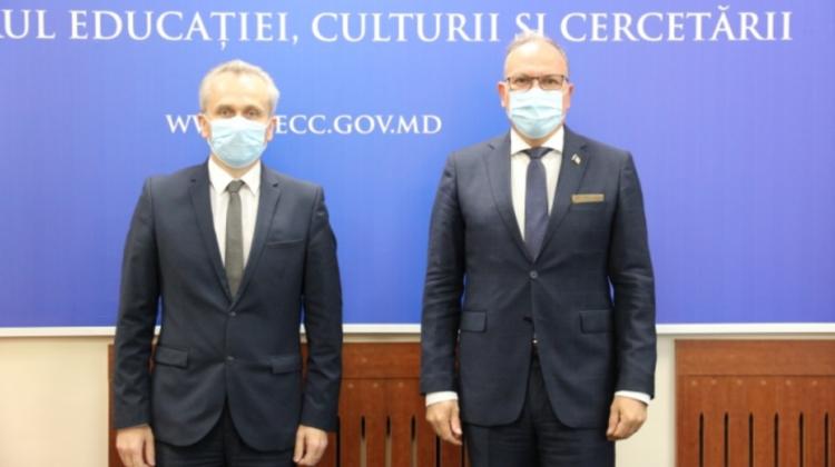Anatolie Topală, în discuții cu Daniel Ioniță. Pe agendă, intensificarea cooperării moldo-române în domeniile MEC