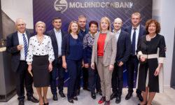 Moldindconbank a deschis un Centru modern pentru clienți corporativi