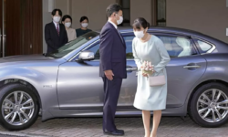 FOTO, VIDEO Nepoata împăratului Japoniei s-a căsătorit după ani de ceartă. Cât de simplă și frumoasă a fost nunta!